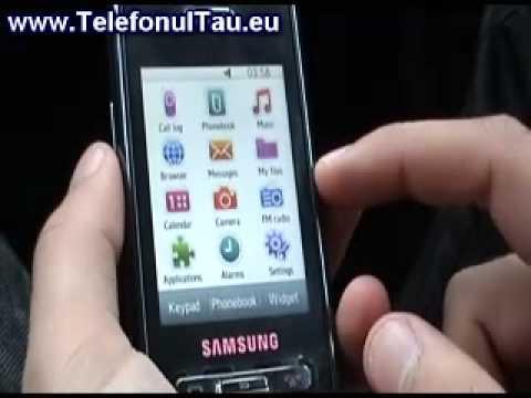 Samsung D980 hands on