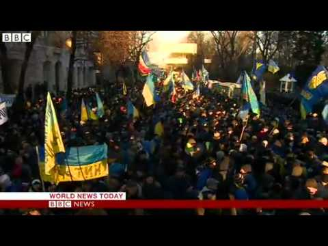 BBC News   Ukraine unrest  Nato condemns crackdown on protesters