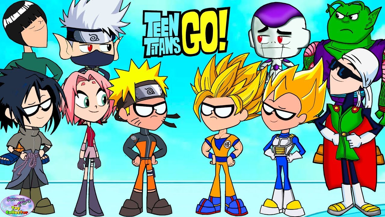 Download Teen Titans Go! Color Swap into Dragonball Z and Naruto Surprise Egg and Toy Collector SETC