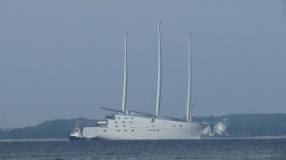 The world's largest sailing yacht White Pearl grande yate grand voilier