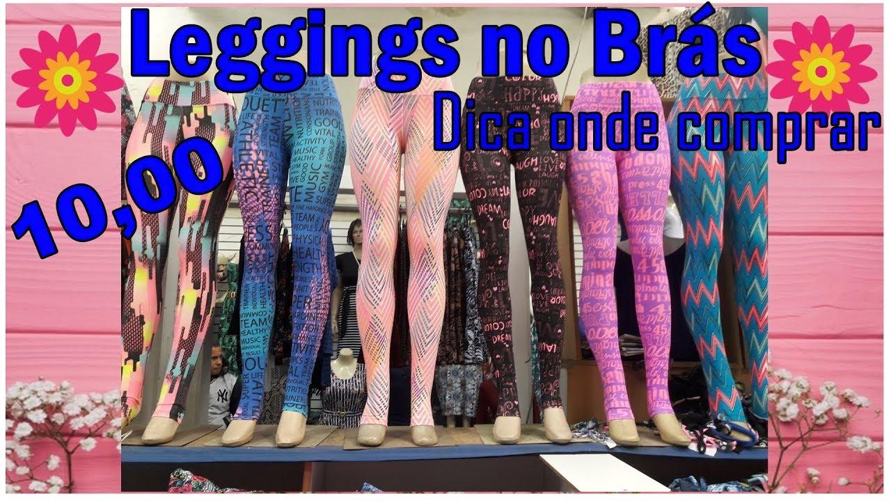 c42257b75d5 Onde compro minhas Leggings no Brás!  divandonobras - YouTube