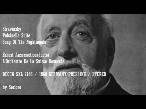 Stravinsky, Pulcinella Suite, Song Of The Nightingale, Ernest Ansermet,cond