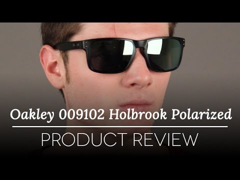 Oakley 009102 Holbrook Polarized Sunglasses Review | SmartBuyGlasses