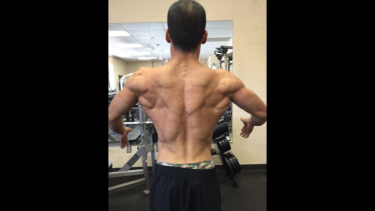 Natural Body Builders Back
