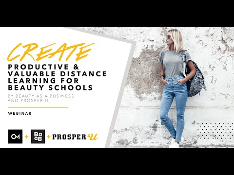Webinar Create Productive And Valuable Distance Learning For Beauty Schools Oozle Media