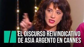 Asia Argento en Cannes: