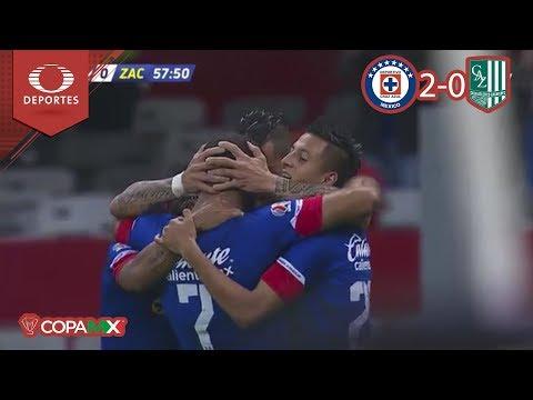 ¡Máquina imparable! | Cruz Azul 2 - 0 Zacatepec | Copa Mx J-4 | Televisa Deportes