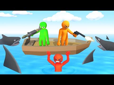 Gang Beasts + GUNS = EPIC! (Havocado)