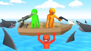 Gang Beasts + GUNS = EPIC! (Havocado)