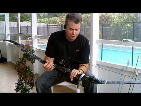 PSE KingFisher Recurve Bow Review With Modifications With Laser Sights Archery