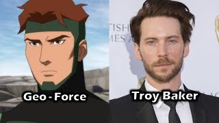Characters and Voice Actors - Young Justice: Outsiders (Season 3) (Part 1)