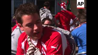 Switzerland Fans Gather Ahead Of Key Wcup Game Against Honduras