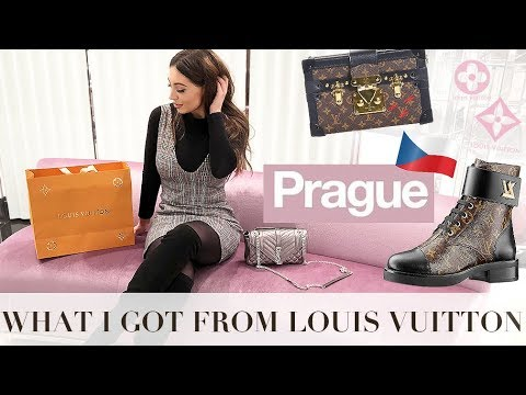 Travel Vlog: Prague- My First Big Louis Vuitton Purchase