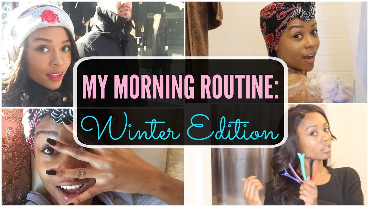 My winter morning routine youtube