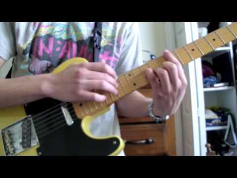 La dispute-Fall Down, Never Get Back Up Again guitar cover
