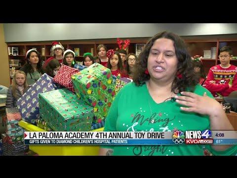 La Paloma Academy 4th annual Toy Drive