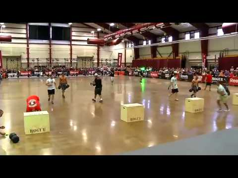 2012 Regionals - Event Summary: South West Men's Workout 6