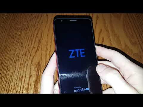 ZTE Blade A3 2020 hard reset сброс настроек графический ключ пароль зависает тормозит how to reset