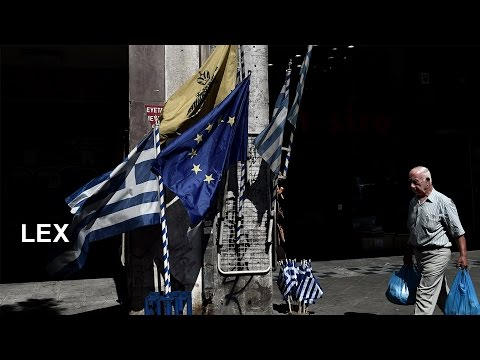 Greek banks' future   Lex