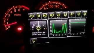 Parâmetros da injeção eletrônica após reset, motor MR18DE FLEXFUEL TIIDA, LIVINA e XGEAR
