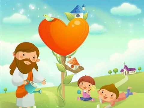 基督教短歌/主日學詩歌:耶穌喜愛小孩像愛你我他 | FunnyDog.TV