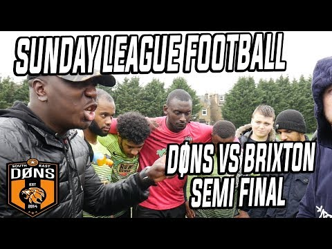 SE DONS vs BRIXTON - CUP SEMI FINAL - SOUTH EAST vs SOUTH WEST LONDON Sunday League Football