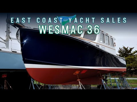 Wesmac 36: Downeast Cruising Boat FOR SALE