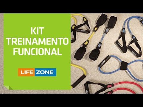 Kit Treinamento Funcional Life Zone | Shoptime