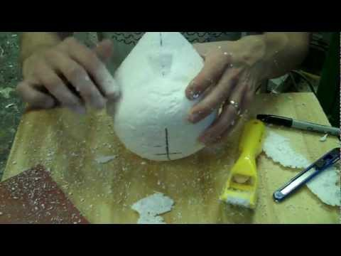 Sculpting and Carving Foam