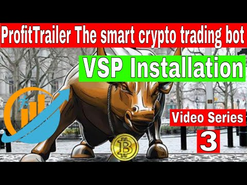 Crypto trading bot BITCOIN VPS Installation Video Series 3