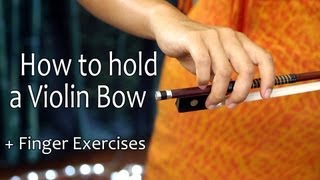 Video How to Hold a Violin Bow + Finger Exercises download MP3, 3GP, MP4, WEBM, AVI, FLV Desember 2017
