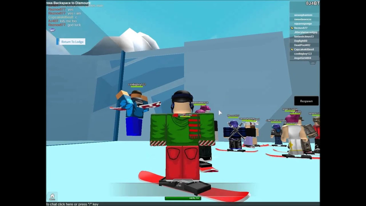 Roblox Winter Games 2014 Gameplay Montage Youtube