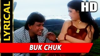 Download lagu Buk Chuk With Lyrics | Abhijeet Bhattacharya | Chandaal 1998 HD Songs | Mithun Chakraborty