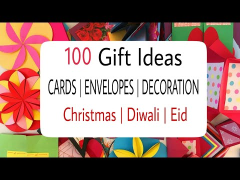 100 plus Gifts, Cards and Decoration Ideas for Diwali | Christmas | Eid | New Year!