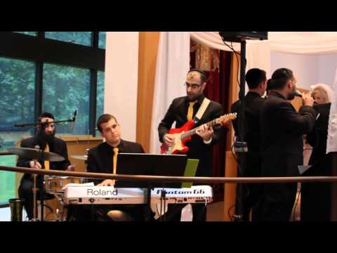 """Jewish wedding music band Shir Soul performs a unique """"rock"""" chuppah @ Roemer in Teaneck"""