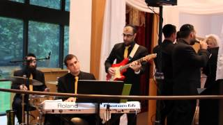 "Jewish wedding music band Shir Soul performs a unique ""rock"" chuppah @ Roemer in Teaneck"