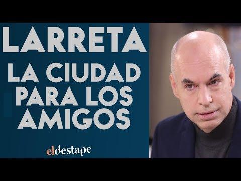 Rodríguez Larreta y la Ciudad para los amigos | El Destape con Roberto Navarro EN VIVO