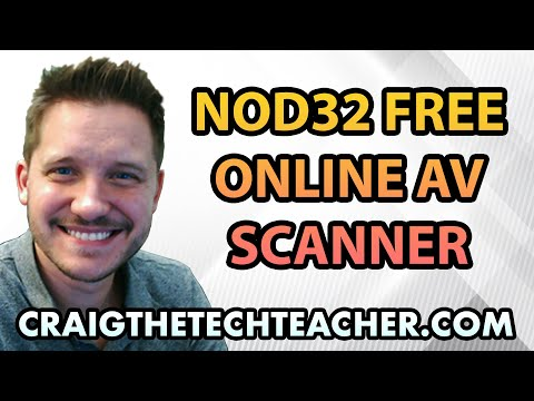 NOD32 Free Online Scanner Antivirus Tutorial