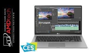 CES 2018: LG GRAM 13, 14 & 15-in Laptops for 2018