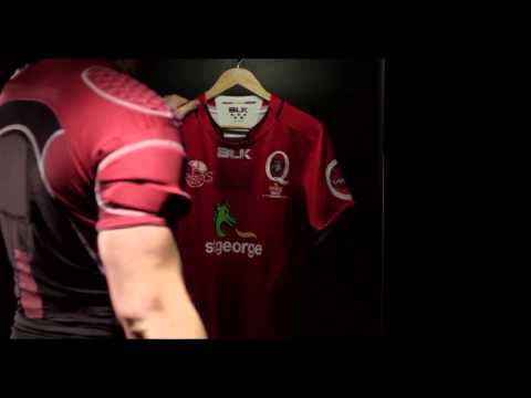 2016 St.George Queensland Reds Jersey Reveal