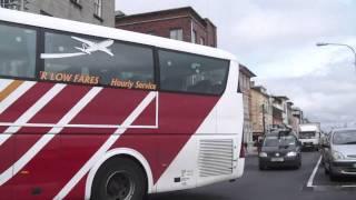 Bus Eireann SP19 in Wexford town 3rd August 2010.MP4