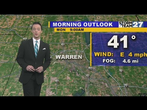 Warren Weather: Mainly sunny, Monday!