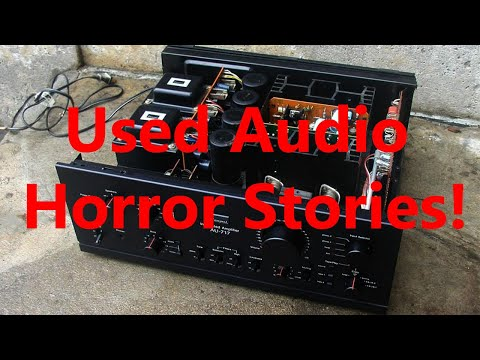 Why You Should Buy Used Audio Gear Or...NOT !