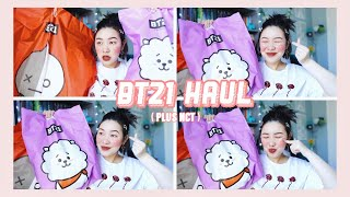 BT21 & NCT HAUL 🌸 all the kpop things!!!!