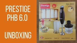 Prestige PHB 6.0 200 Watt 2 Speed Hand Blender- Unboxing | #vtraveller