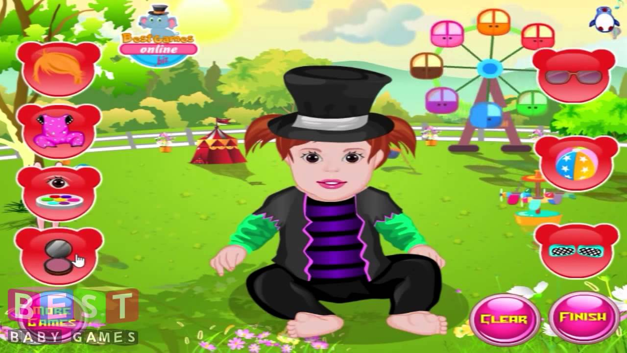 � stylish baby dressup baby games for kids youtube