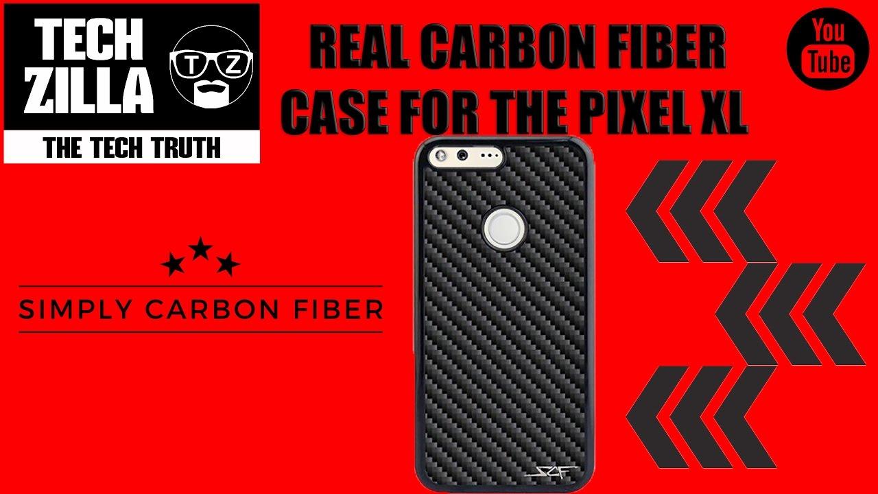 pretty nice 48150 e452f Google Pixel XL Simply Carbon Fiber Case Review