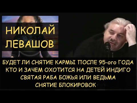 Н.Левашов: Кто и зачем охотится на детей Индиго. Снятие кармы после 95 года. Сеанс снятия блокировок