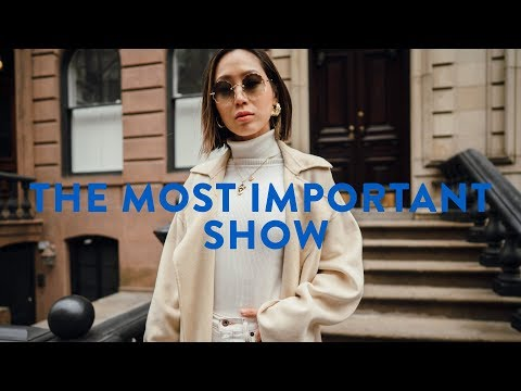 The Most Important Show This Season  NYFW Day 2  Aimee Song