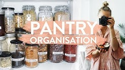 PANTRY ORGANISATION | My Healthy Food Pantry Makeover!!